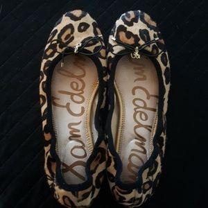 Sam Edelman leopard loafers